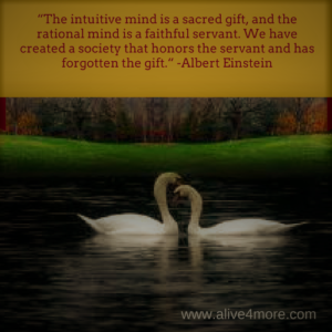 Alt=Intuition is one of the faculties of the mind